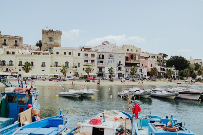 Forio, my first view of Ischia.