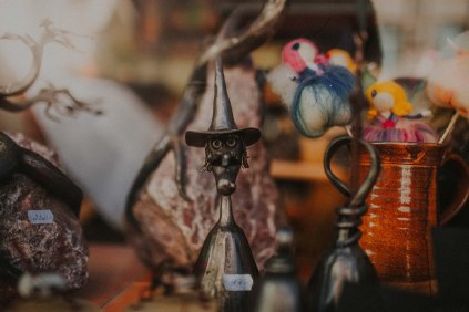 Quirky antique shops are dispersed throughout the city.